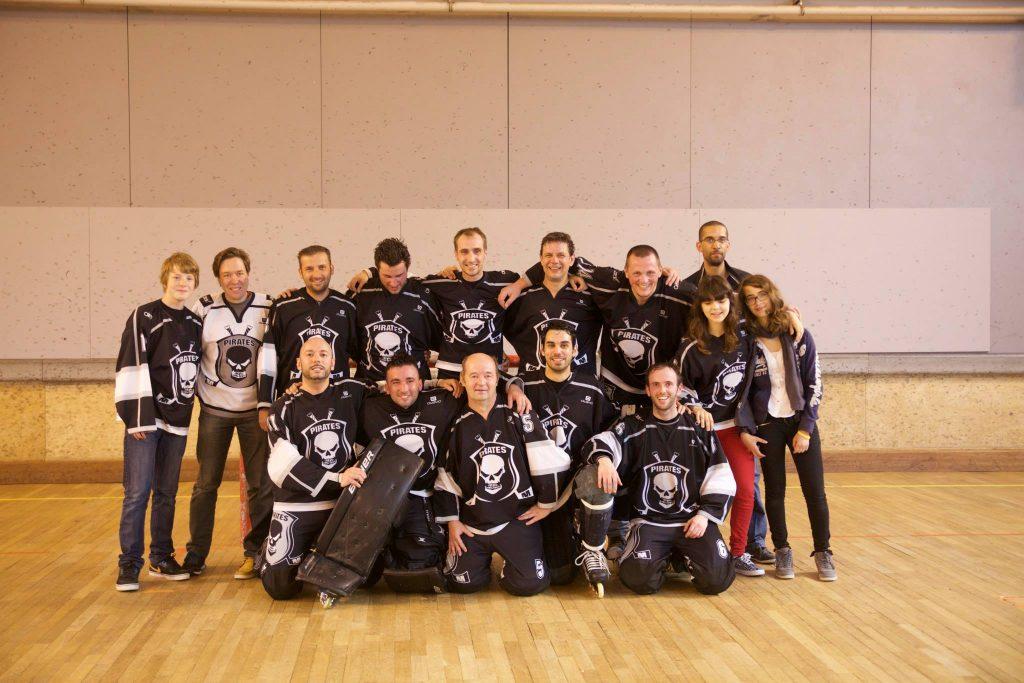 le hockey roller et les pirates de creil